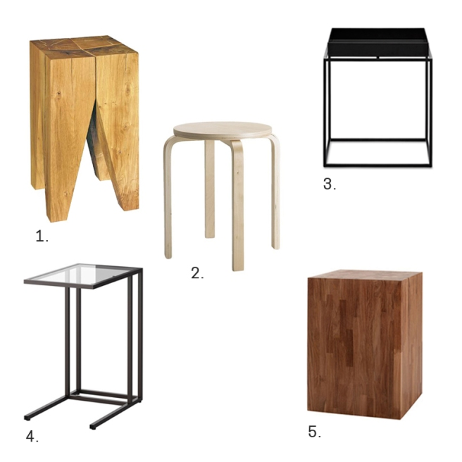 COFFE TABLE OPTIONS