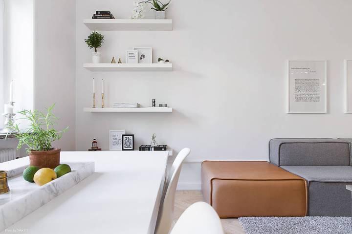 scandinavian small flat