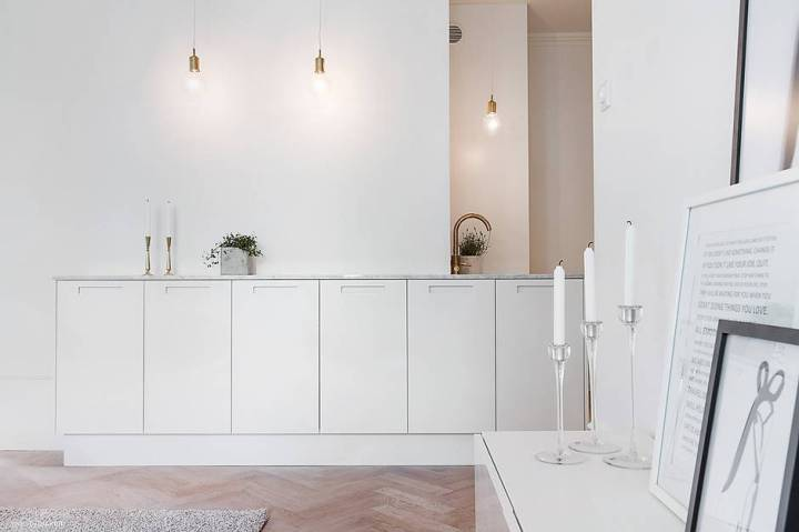 small scandinavian apartment
