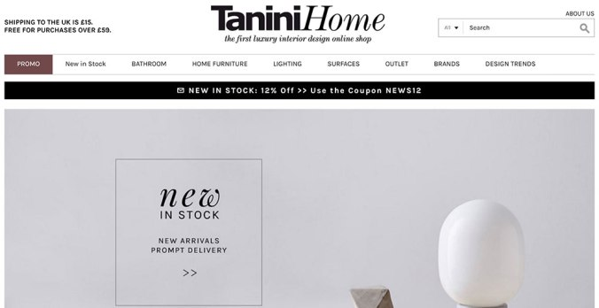 5 best FURNITURE online shops