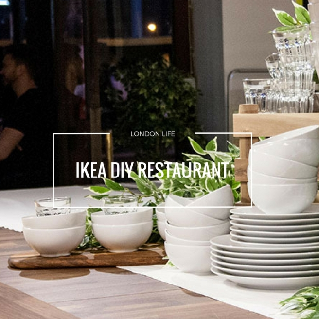 ikea diy restaurant