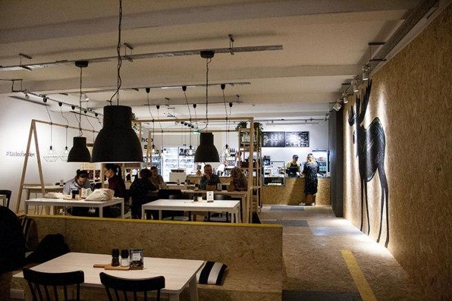 IKEA POPUP CAFE